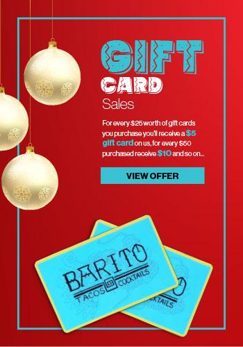 Barito Gift Cards