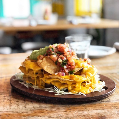 Barito Nachos with Salsa